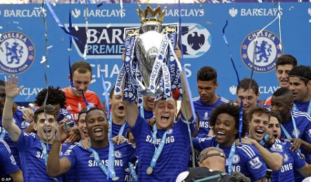 Chelsea win league last season