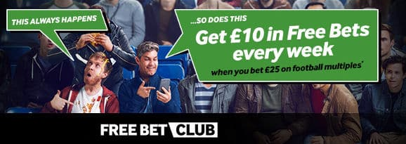 Betway free bet club