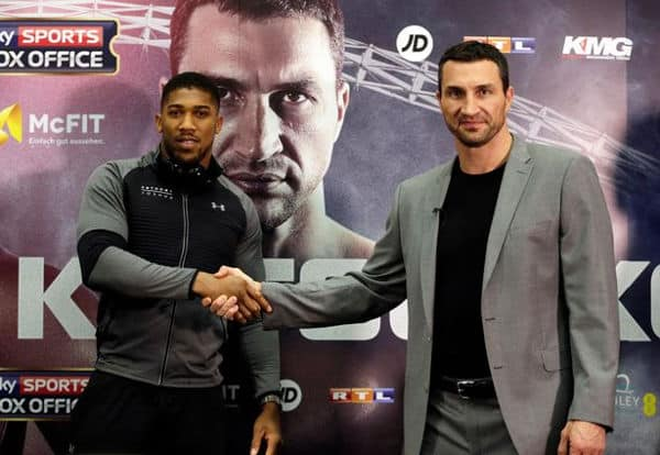 joshua klitschko press conference