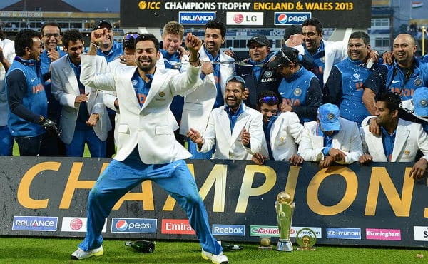 indian win ICC Champions Trophy