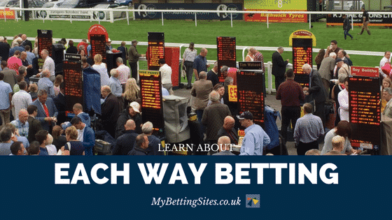 If you put a bet on each way what does it mean desert diamond sports betting