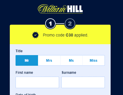 William Hill Alternative Location