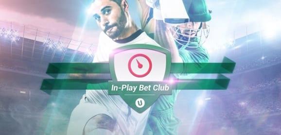 Unibet In-Play Free Bet Club