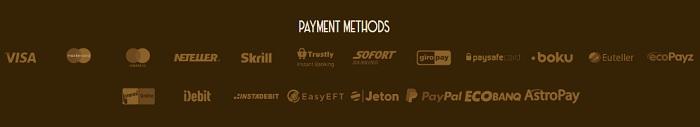 Payment Methods Casino Lab