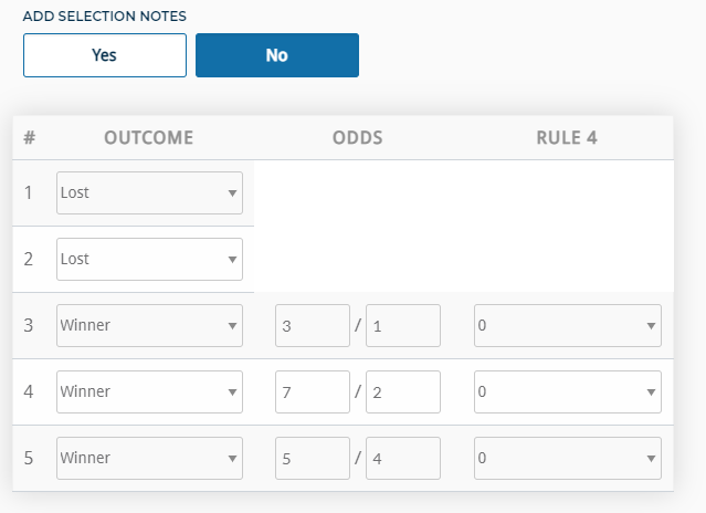 Lucky 31 Calculator odds outcome rule 4 MyBettingSites